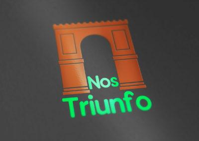 Nos Triunfo logo