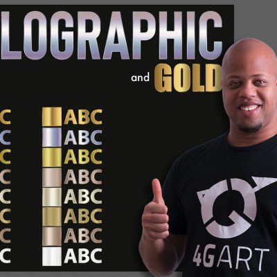Buy and Download Adobe Illustrator metallic swatches