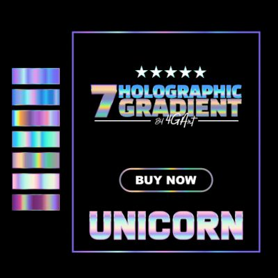 Buy Holographic Swatches of 7 Holographic Gradient for Affinity Designer and Affinity Photo