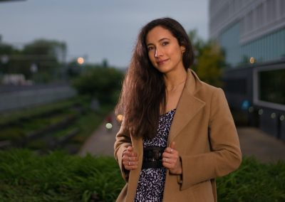 Portrait taken with a Nikon D610